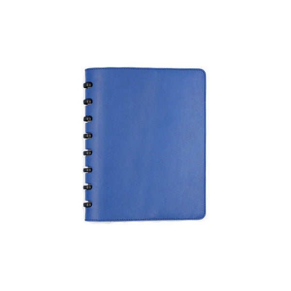 Blue leather cover for Atoma notebook