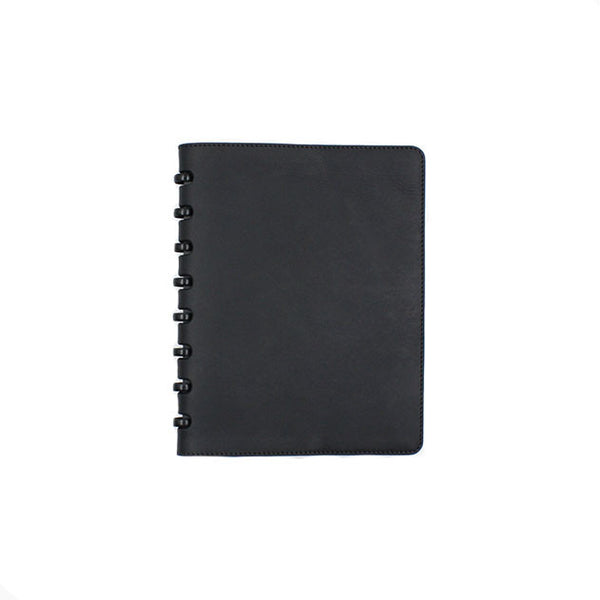 Black leather cover for Atoma notebook