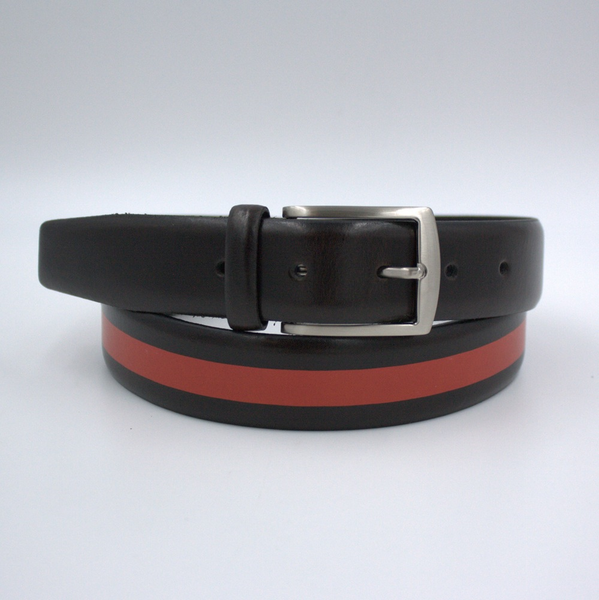 Black and red belt