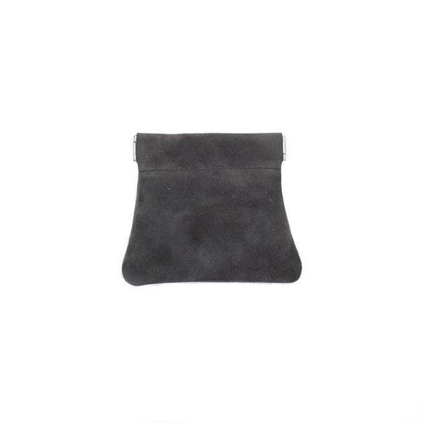 brussels concept store michael guérisse snap top coin purse grey mauve