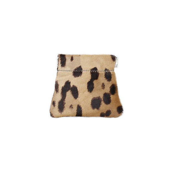 brussels concept store michael guérisse snap top coin purse leopard