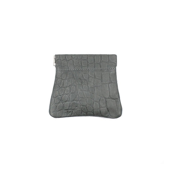 brussels concept store michael guérisse snap top coin purse anthracite
