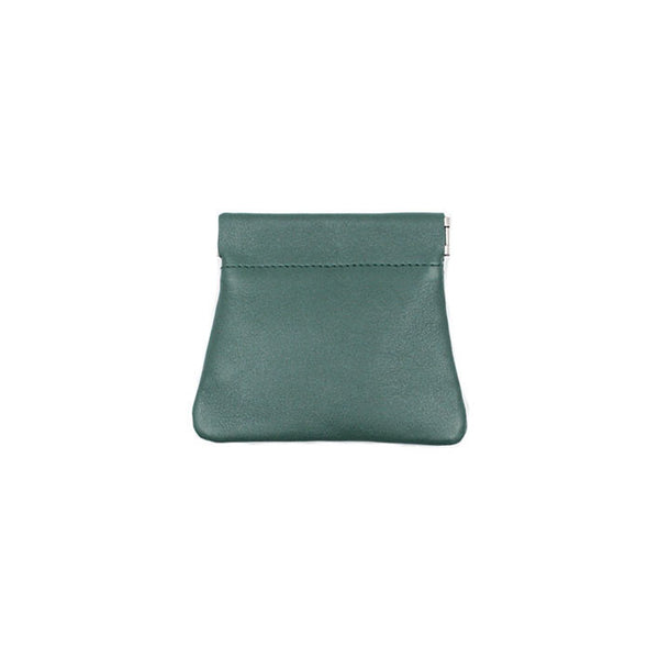 brussels concept store michael guérisse snap top coin purse green