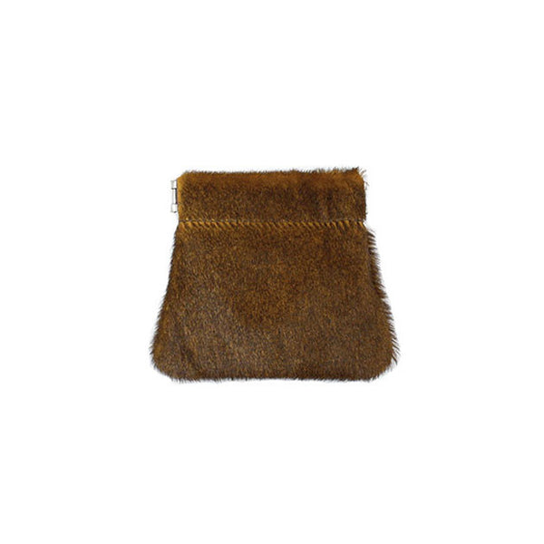 brussels concept store michael guérisse snap top coin purse natural brown