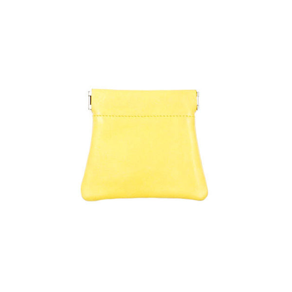 brussels concept store michael guérisse snap top coin purse yellow