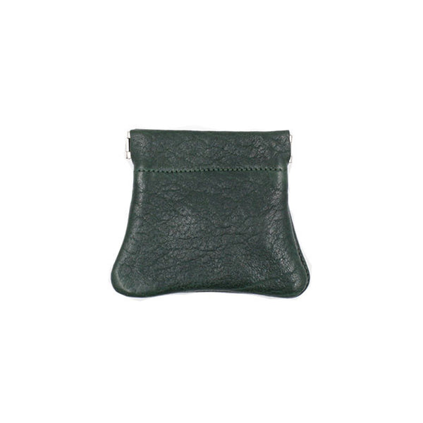 brussels concept store michael guérisse snap top coin purse bottle green