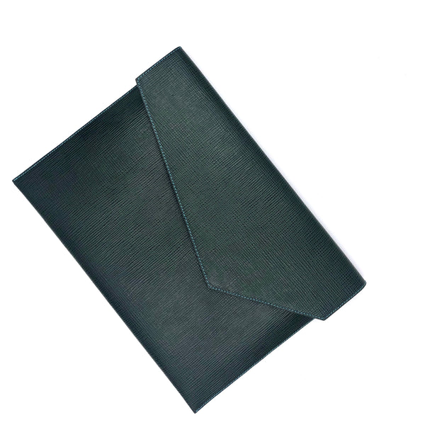 Copy of Structured Black & Green Document holder