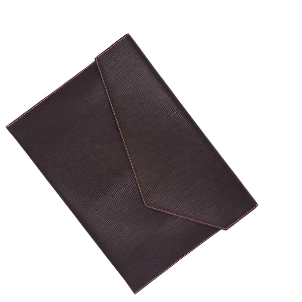 Dark Brown & Orange Document holder