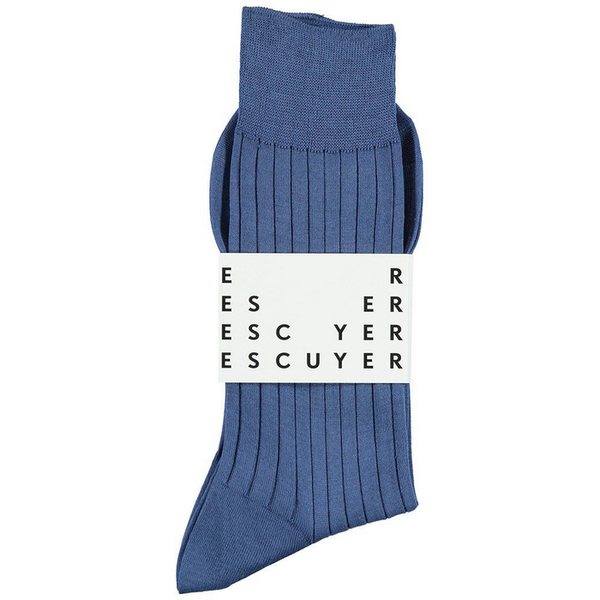 Fil d'ecosse lisle light blue escuyer brussels concept store