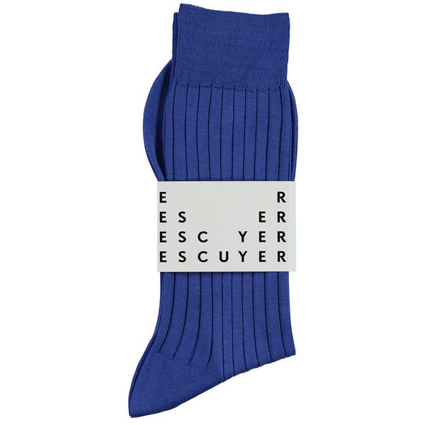 fil d'ecosse lisle strong blue escuyer socks brussels concept store