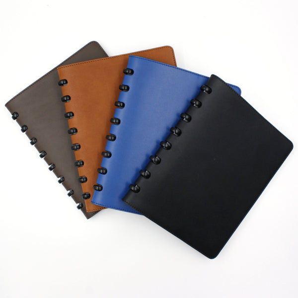 different colors of leather cover for atoma notebook