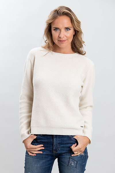 Sweater Huaca White