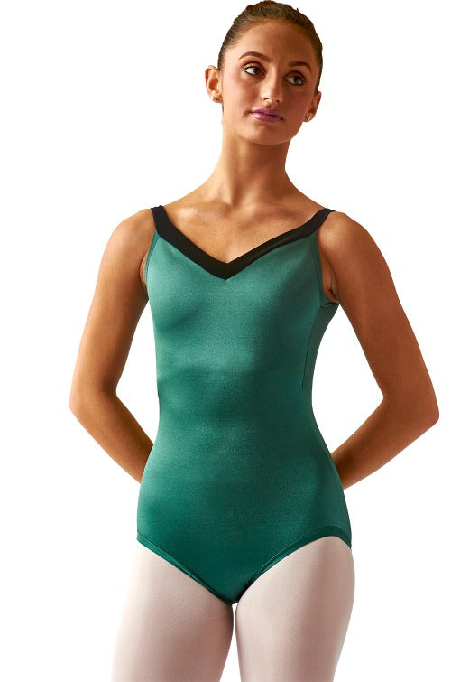 Women's Wide Strap Leotard - SteelCore