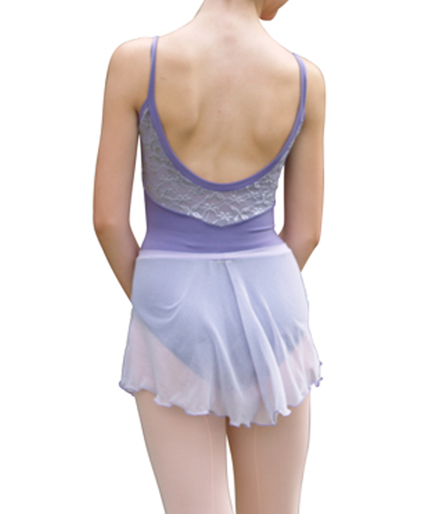 Lace Embossed Camisole Leotard - SteelCore