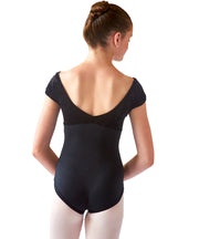 Cap Sleeve Empire Leotard - SteelCore