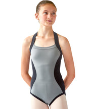 Hourglass Halter Leotard - SteelCore