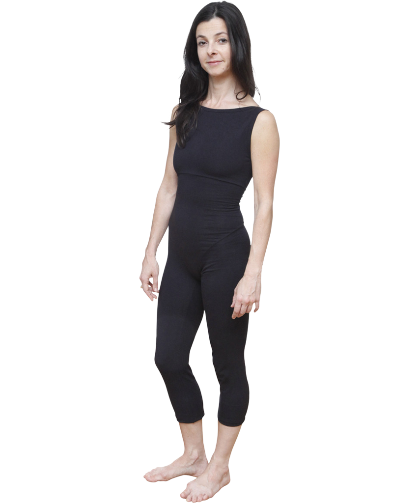 Organic Cotton Boatneck Unitard - SteelCore