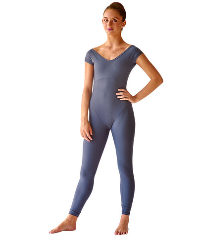 Polyester Cap Sleeve Bodysuit - SteelCore