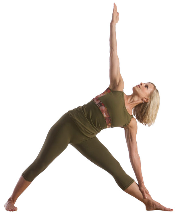 Long Cami Yoga and Pilates Top - SteelCore