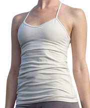 Organic Cotton T-Back Cami Top - SteelCore
