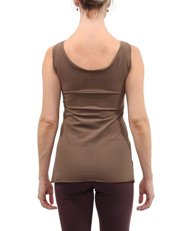 Sleeveless Boatneck Top - SteelCore