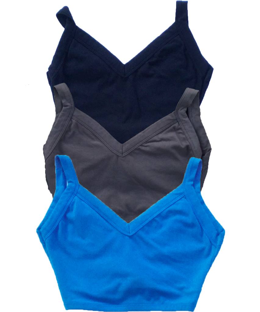 Organic Cotton Sports Bra - SteelCore