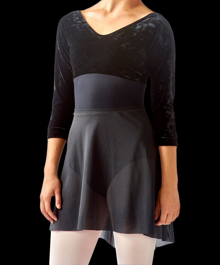 Long Graduated Dance Skirt - SteelCore