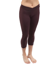 UnSEAMly  V-Waist Mid-Calf Capri in Supplex - SteelCore