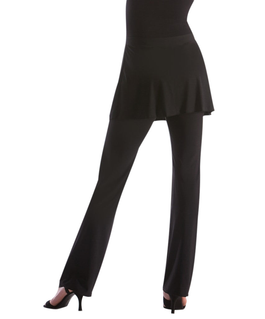 SkinSilk UnSEAMLY Skirted Yoga Pant - SteelCore