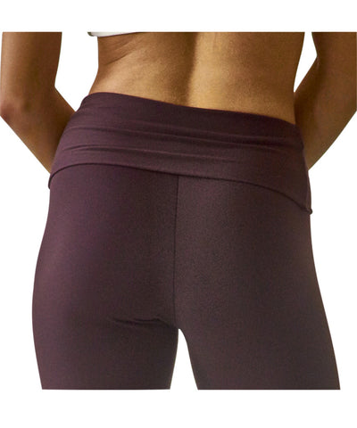 Foldover Waist Yoga Pant in Supplex - SteelCore