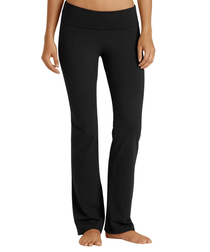 Organic Cotton Foldover Waist Yoga Pant - SteelCore