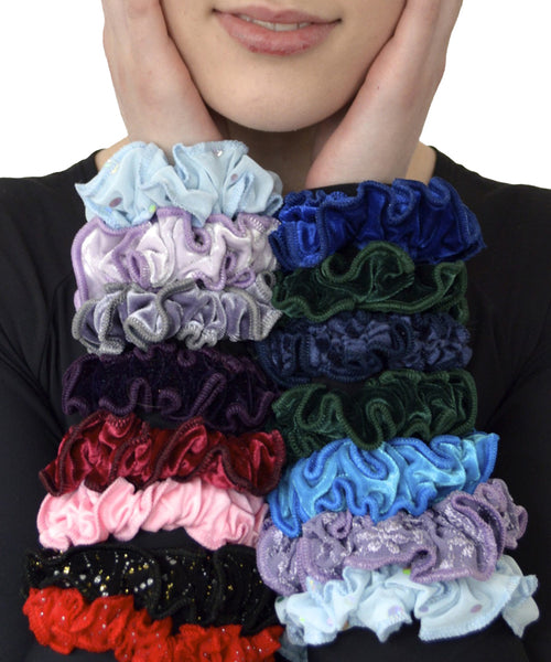 Scrunchies For Your Hair -- Bag of 5 - SteelCore