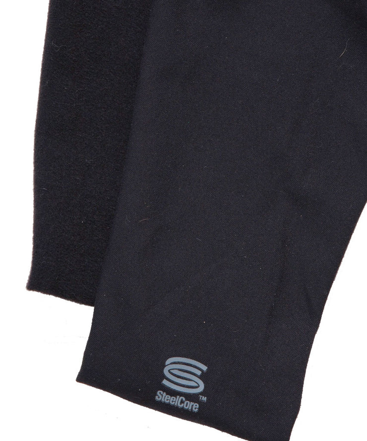 UnSEAMly  V-Waist Mid-Calf Capri in Brushed Supplex - SteelCore