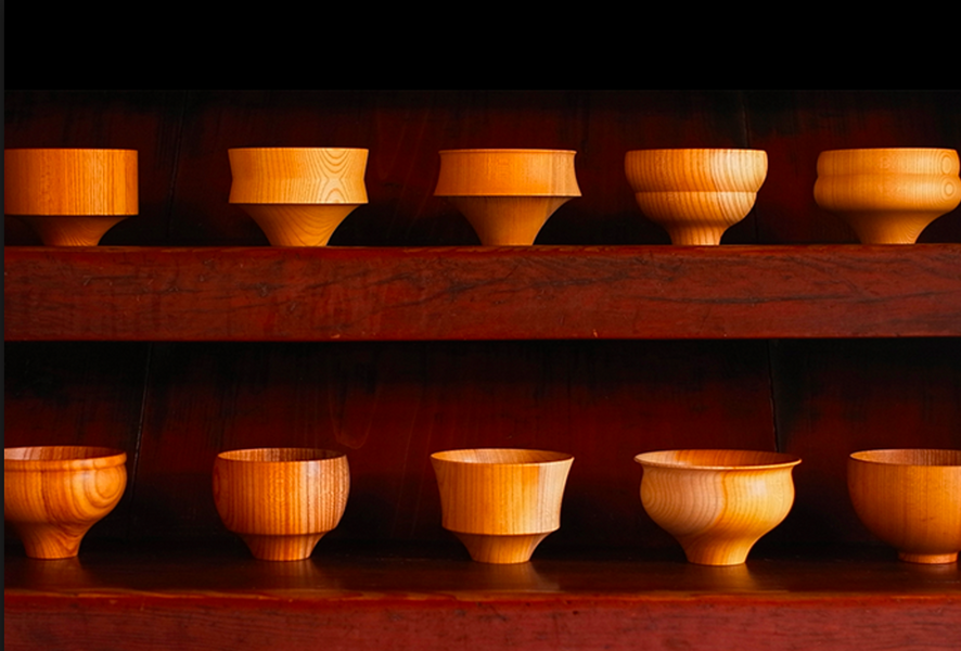 The Secret of Japanese Wooden Bowls 'Tsumugi'