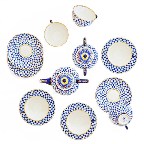Porcelain Teaware Set 14 pieces