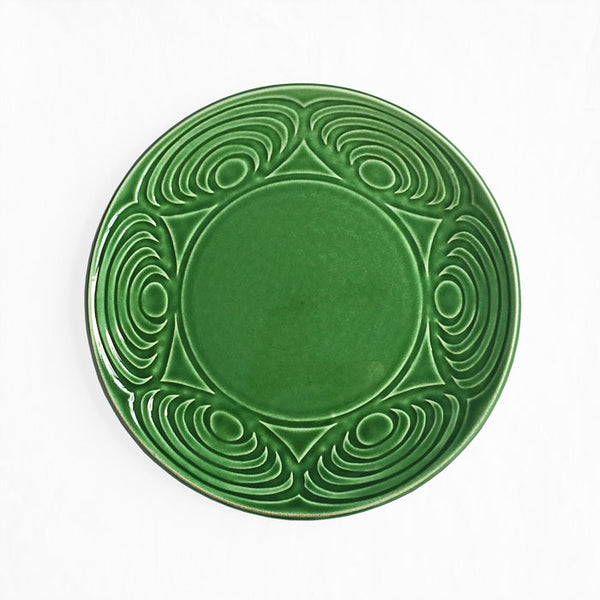 Japanese Dinner Plate Green 24cm