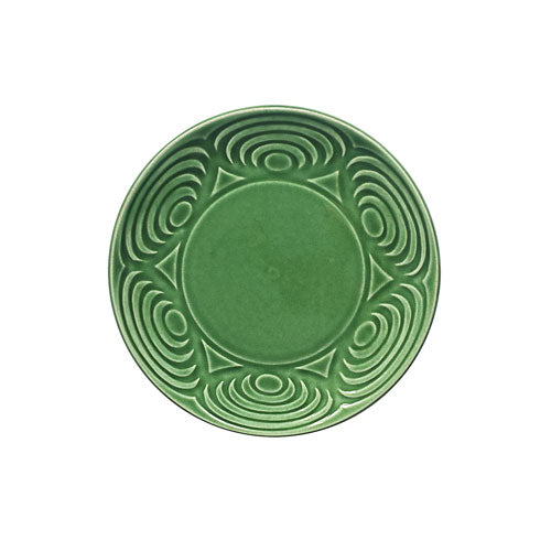 Japanese Dinner Plate Green 18cm