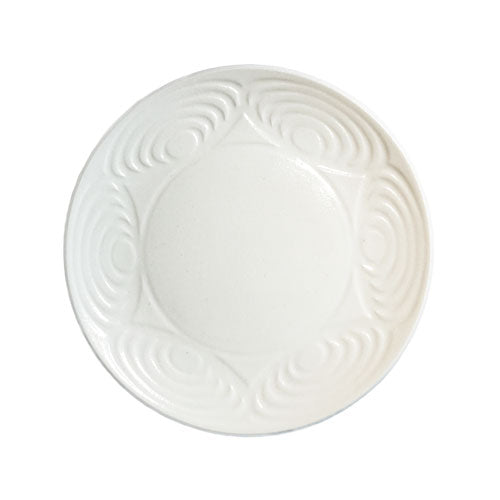 Japanese Dinner Plate White 24cm