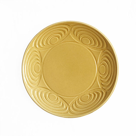 Japanese Dinner Plate Yellow 24cm