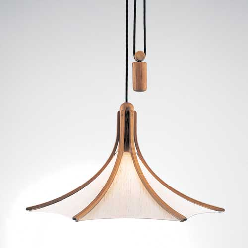 Rise and fall light adjustable pendant light