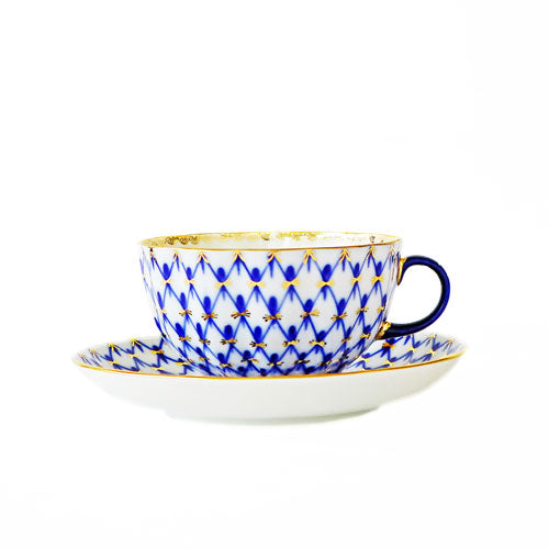 Russian tea set cup and saucer