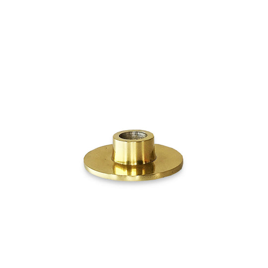 The Roaming Chair Candlestick holder Brass Candlestick Holder 'Jonas' 8 x 3 cm