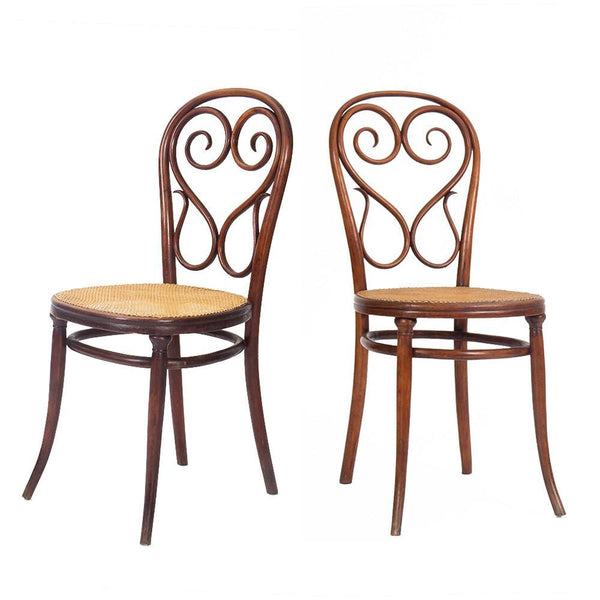 The Roaming Chair Chairs Rare Pair of Thonet Chairs 1890s
