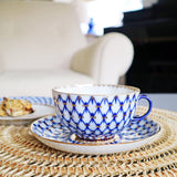 The Roaming Chair cup Cup & Saucer 250ml - Russian Imperial Porcelain