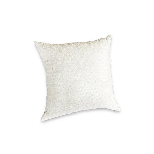 The Roaming Chair cushion Metallic Cushion White Moucharabia 44x44cm