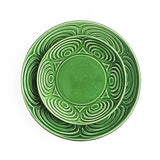 The Roaming Chair Plate Green Ceramic Japanese Dinner Plate