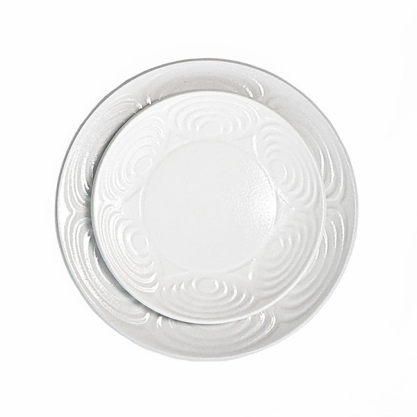 The Roaming Chair Plate White Ceramic Japanese Dinner Plate