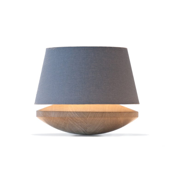 The Roaming Chair Table Lamp Table Lamp Oak & Grey Linen