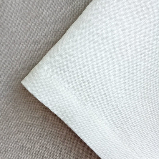 The Roaming Chair Tablecloth Linen Tablecloth High Quality - White