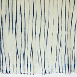 The Roaming Chair Throw Shibori Tie Dye Throw 145 x 200cm 100% Wool & Cashmere - White
